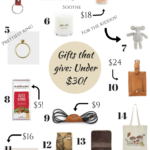 Holiday gifts that give: Under $30